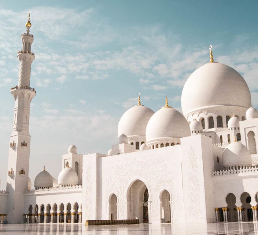 Abu Dhabi Scheich Zayid Moschee Sehenswürdigkeiten