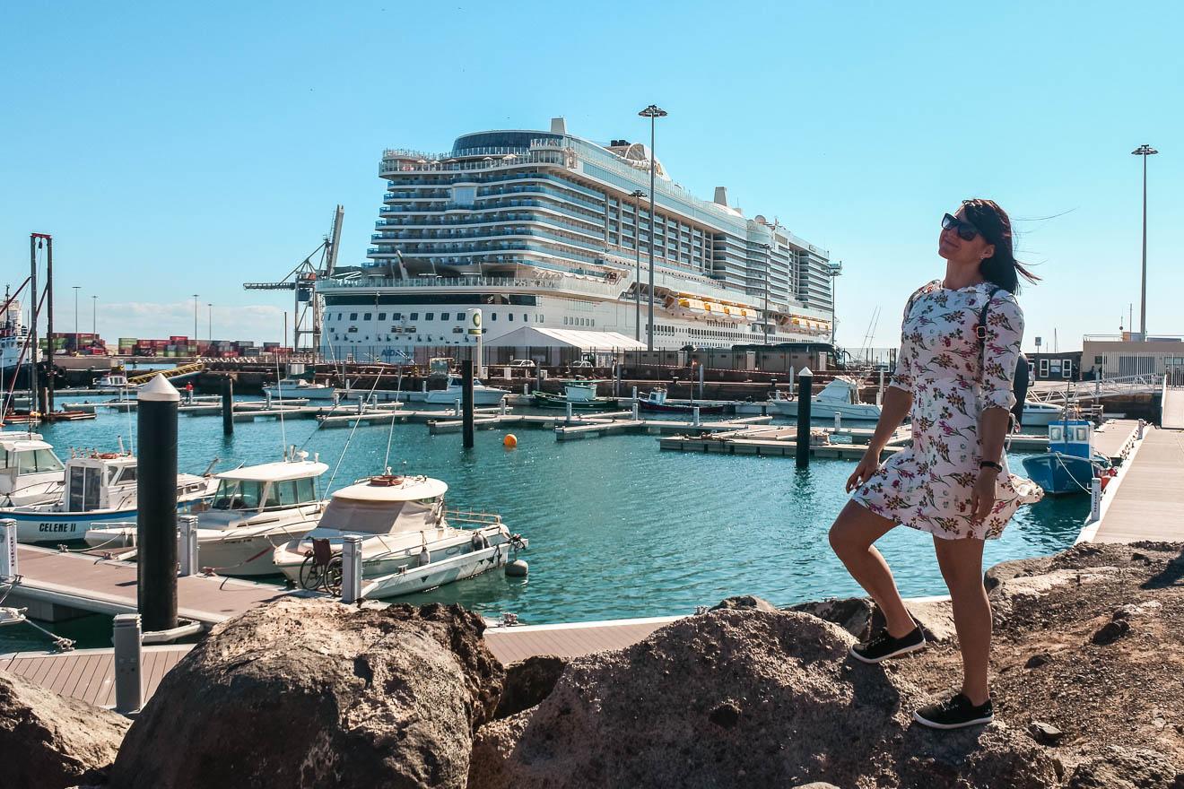 AIDA Schiff Hafen