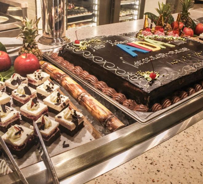 AIDAnova Buffet Dessert