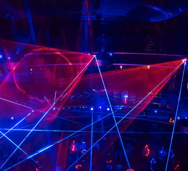 AIDAnova Entertainment Laser Show