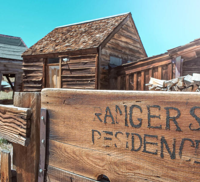 Bodie State Historic Park Residence