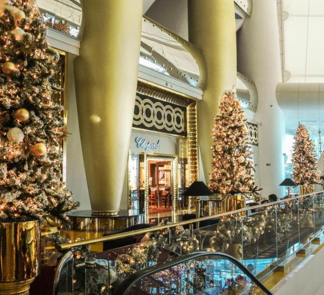 Burj al Arab Dubai Weihnachten