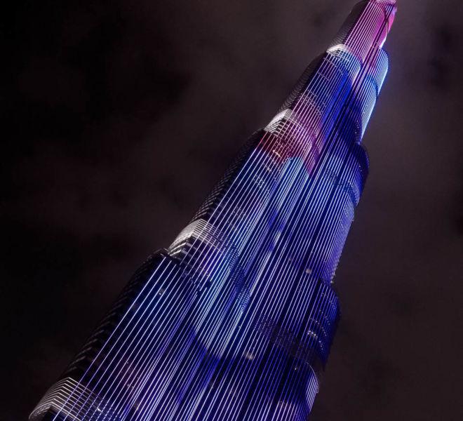 Burj Khalifa Dubai Led Show