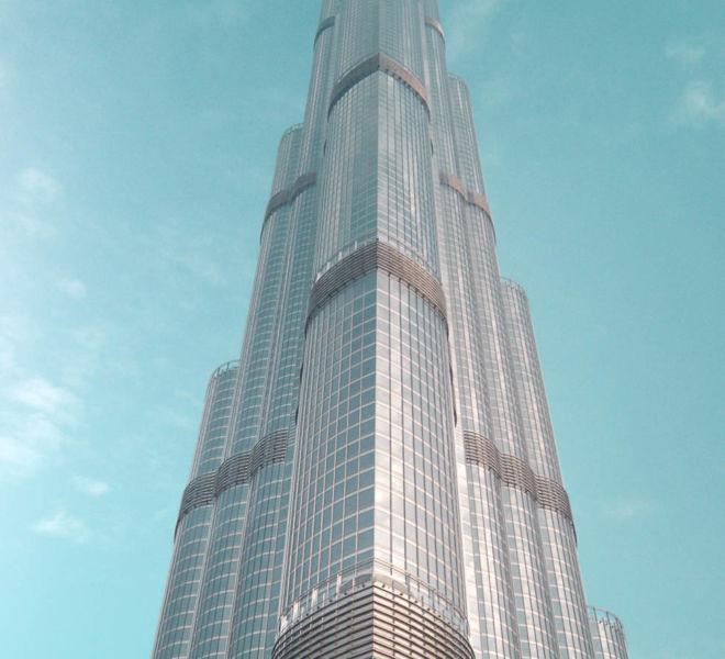 Burj Khalifa Spitze