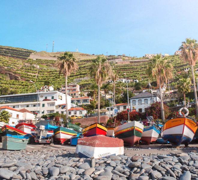 1 Tag auf Madeira Camara de Lobos