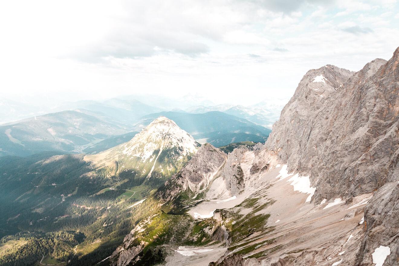 Dachstein Gletscher Österreich Sommer