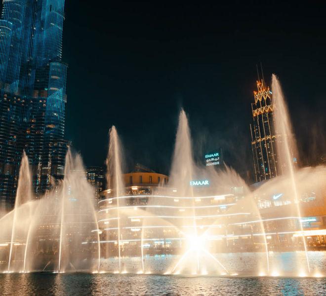 Dubai Fountain - Show Zeiten und die beste Sicht