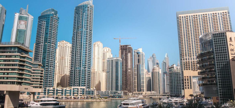 Hochhäuser Dubai Sehenswürdigkeiten und Highlights