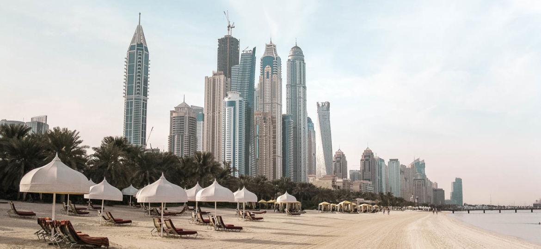 Dubai Marina Strand
