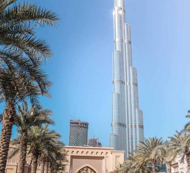 Dubai beste Reisezeit Burj Khalifa