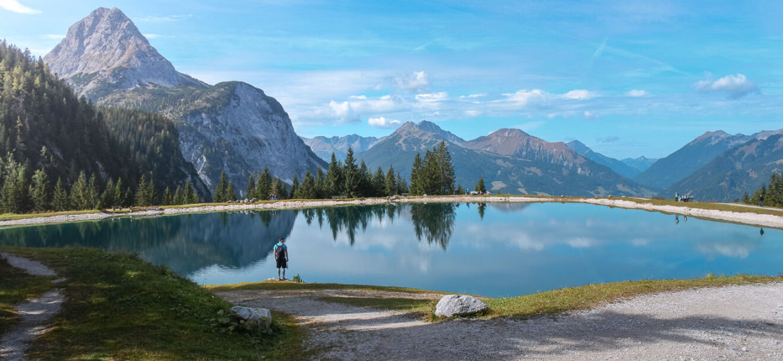 Ehrwalder Almsee Panorama Tirol