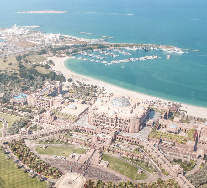 Blick auf das Emirates Palace