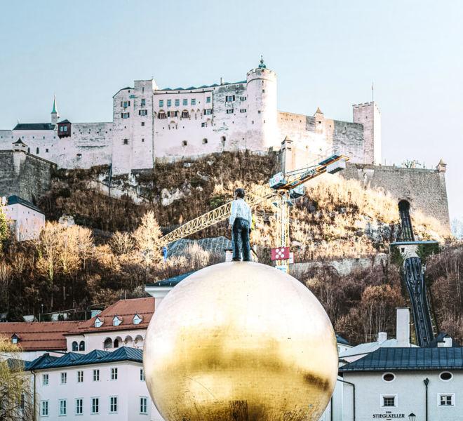 Festung Hohensalzburg goldene Kugel