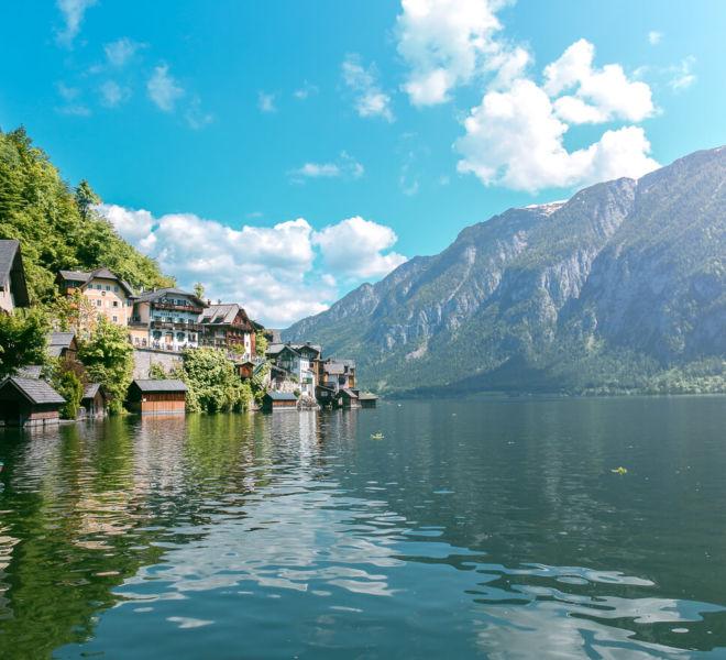 Hallstätter See Österreich