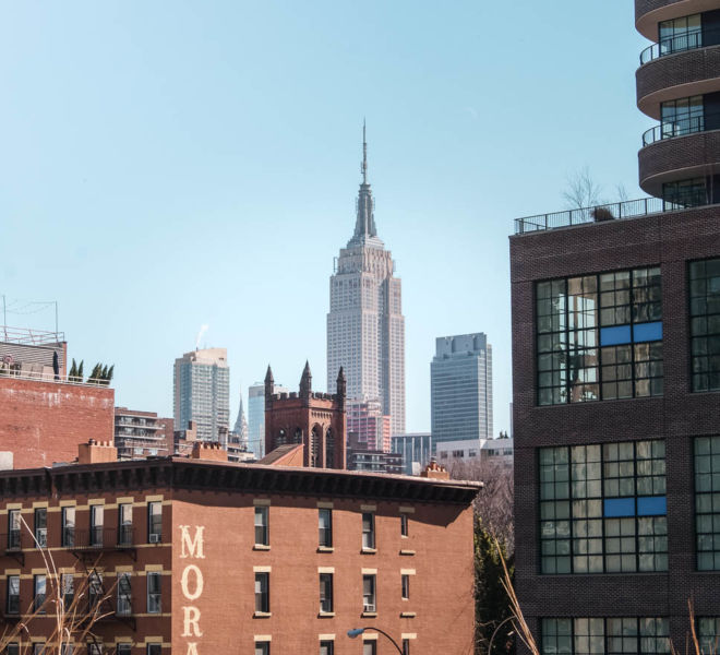 High Line Park New York City kostenlos