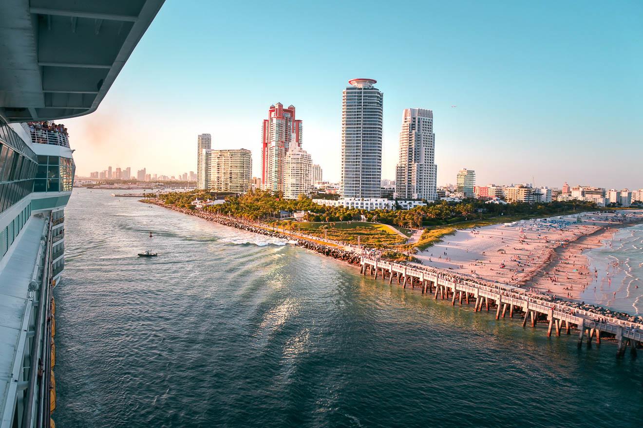 Kreuzfahrt günstig buchen Miami Beach