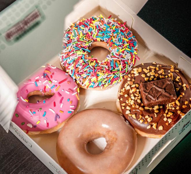 Krispy Kreme Donuts London