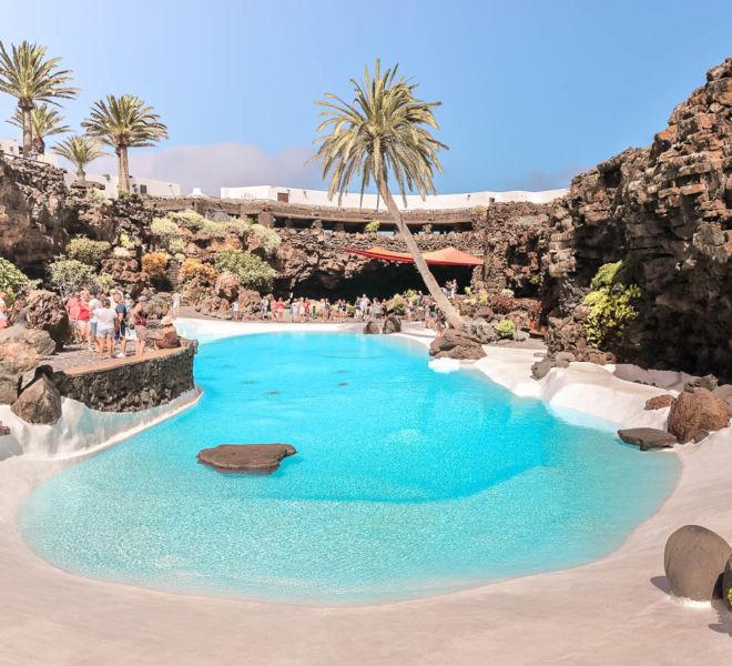 1 Tag auf Lanzarote Jameos del Agua