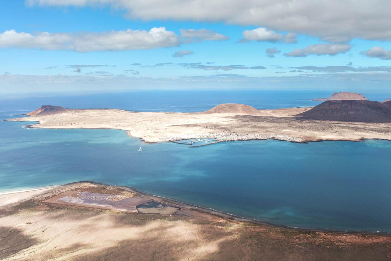 1 Tag auf Lanzarote Mirador del Rio La Graciosa