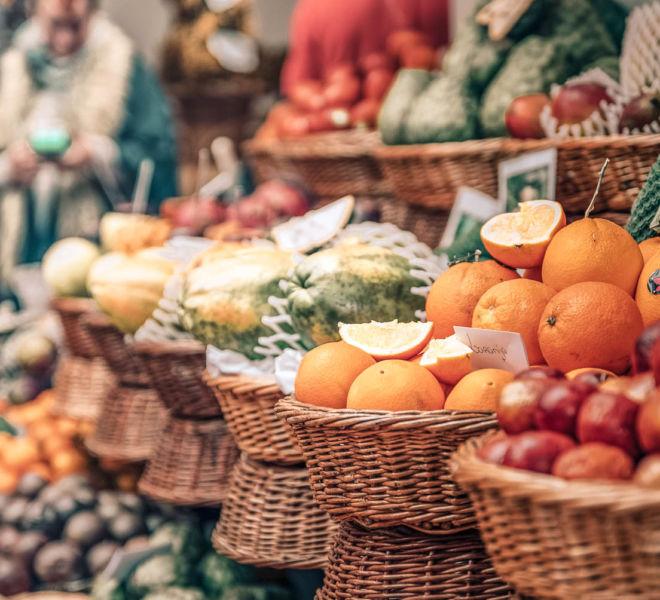 Madeira Obstmarkt