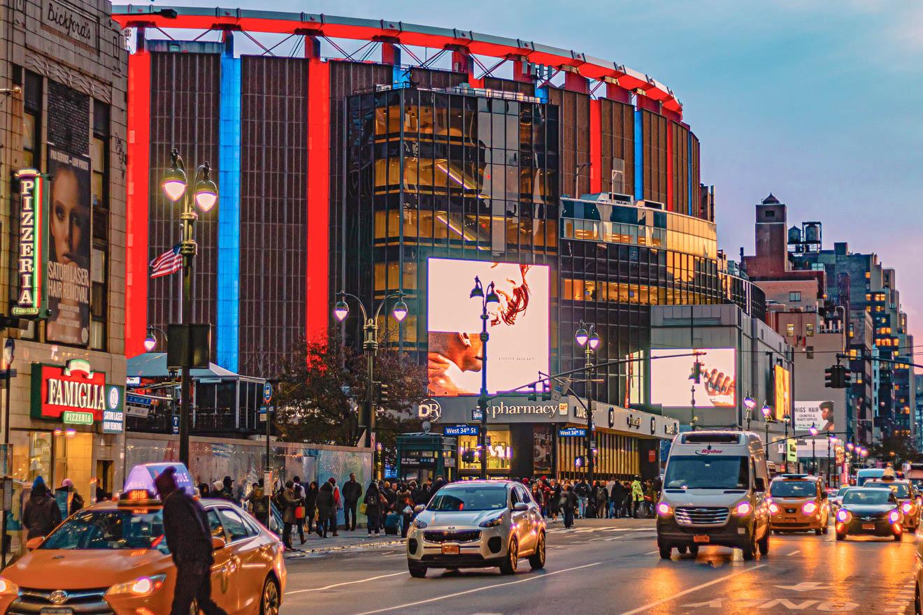 Madison Square Garden New York City Sportevents