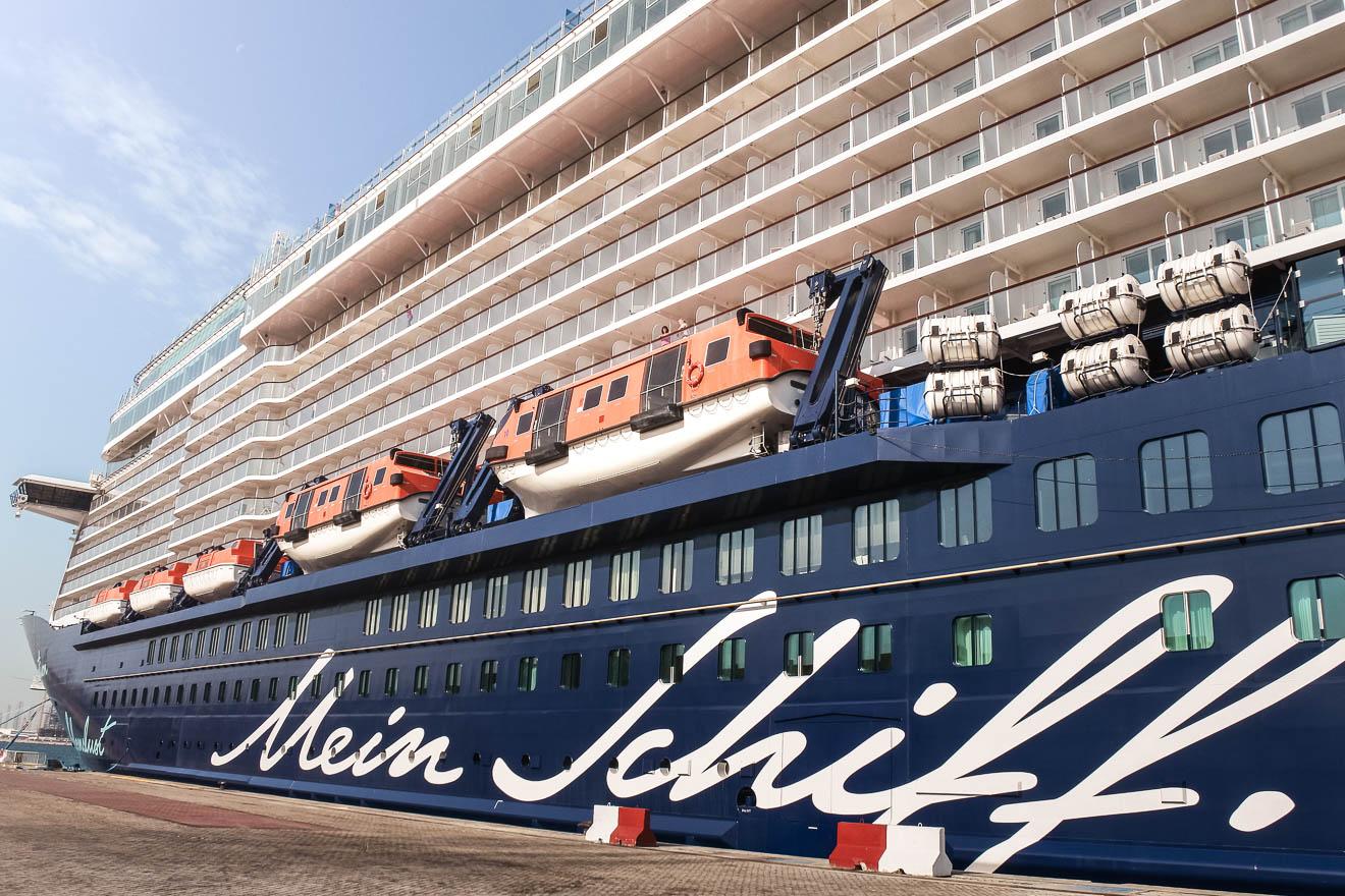 Mein Schiff Kreuzfahrt in Corona-Zeiten