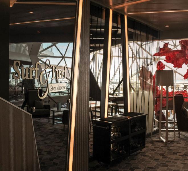 Mein Schiff Surf & Turk Steakhouse