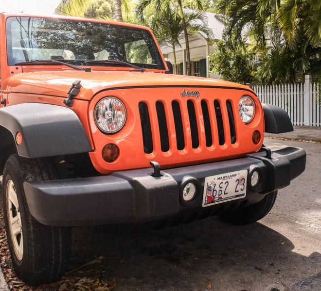 Mietwagen buchen Jeep