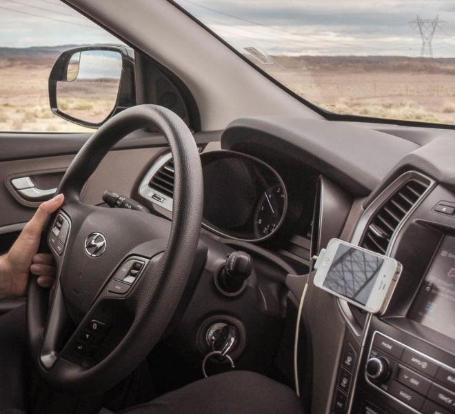 Mietwagen Navigation mit Smartphone