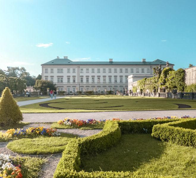 Mirabellgarten und Schloss