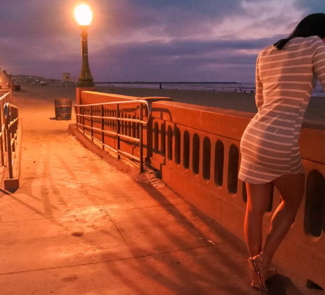 Mission Beach Promenade San Diego