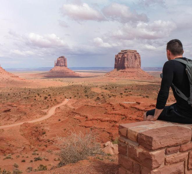 Monument Valley Ausblick