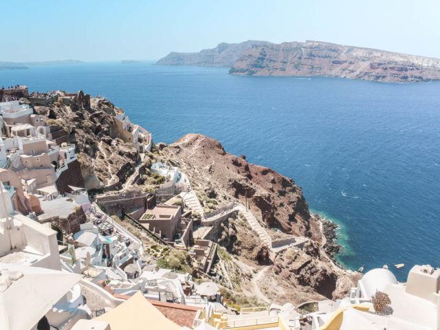Santorini günstig bereisen Oia Caldera