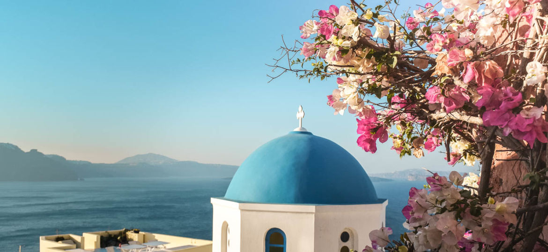 Oia Blue Dome