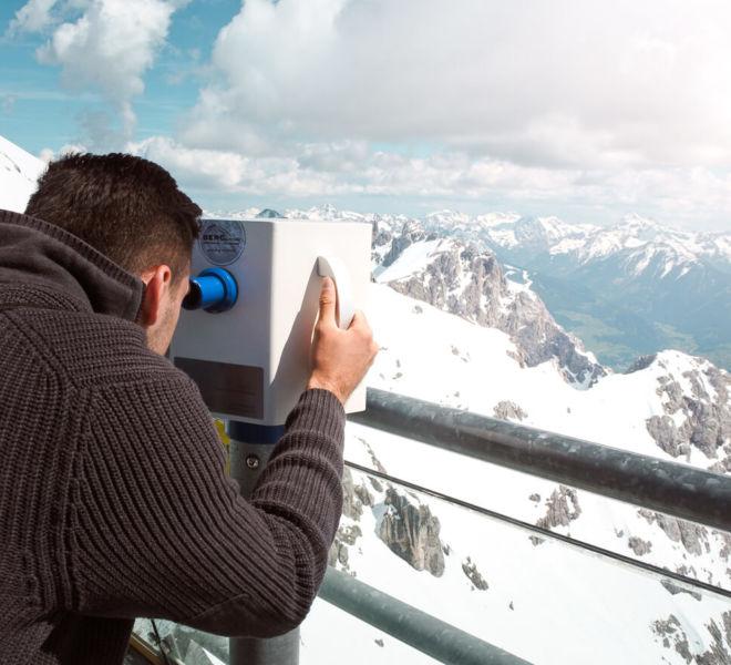 Dachstein Gletscher Aussicht