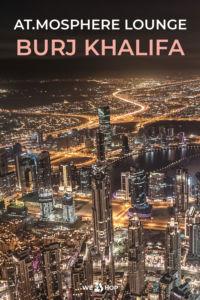 Pinterest Burj Khalifa At.mosphere Lounge am Abend