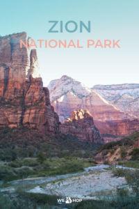 Pinterest Zion National Park
