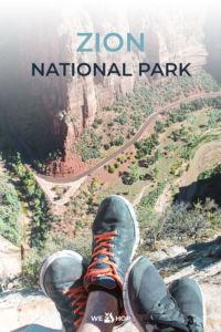 Pinterest Zion National Park Angels Landing