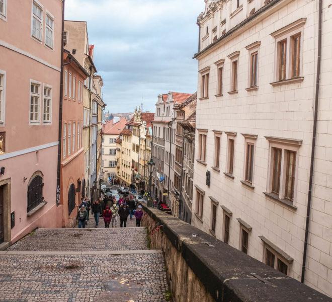Prager Burg Stufen