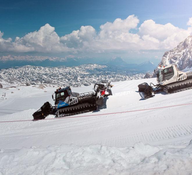 Schneepflug Dachstein Gletscher Gipfel