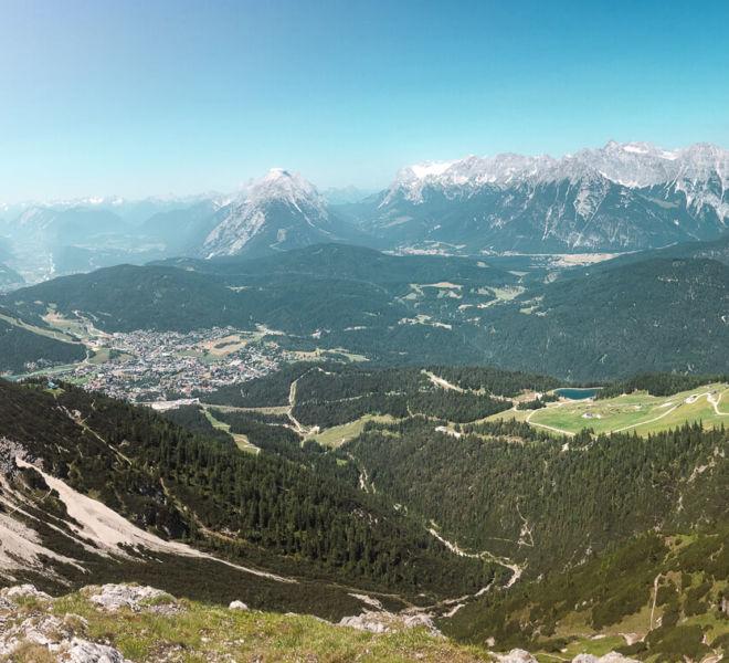 Seefelder Spitze Wanderung Tirol