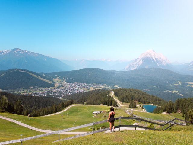 Seefelder Spitze Wanderweg Tirol