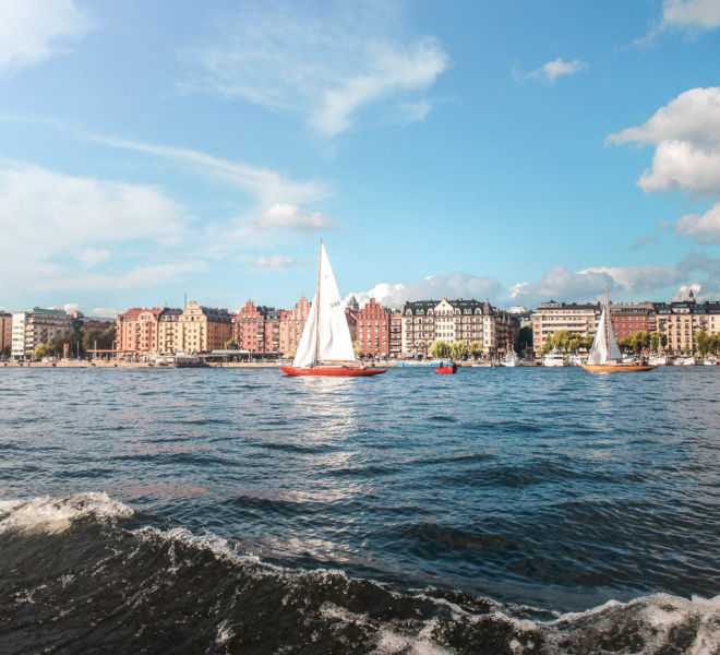 Kurztrip nach Stockholm Bootstour