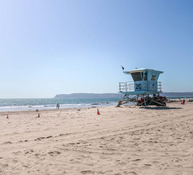 Strand Insel Coronado