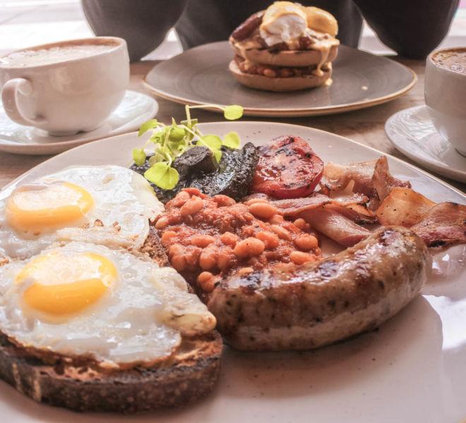 Table Cafe English Breakfast London