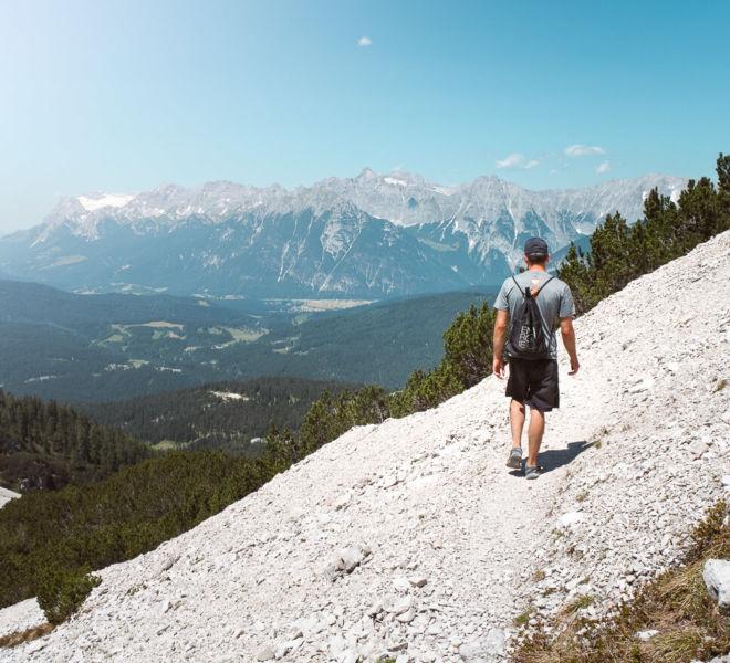 Tirol Seefelder Spitze Wanderung