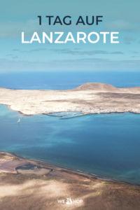 Pinterest 1 Tag auf Lanzarote