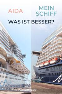 Pinterest AIDA oder Mein Schiff Was ist besser?