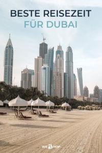 Pinterest Beste Reisezeit für Dubai