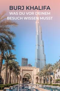 Pinterest Burj Khalifa Was du vor deinem Besuch wissen musst